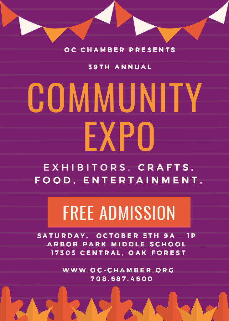 COMMUNITY EXPO POSTER 2019